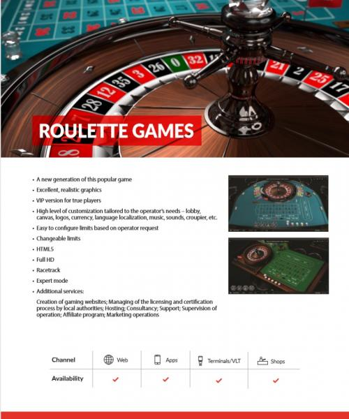 EASIT Ruleta
