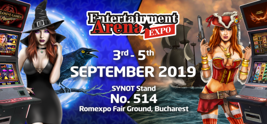 VISIT US AT ENTERTAINMENT ARENA EXPO IN ROMANIA