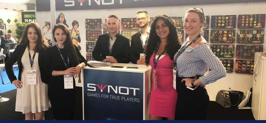 SYNOT for the first time as exhibitor at iGB Live in Amsterdam