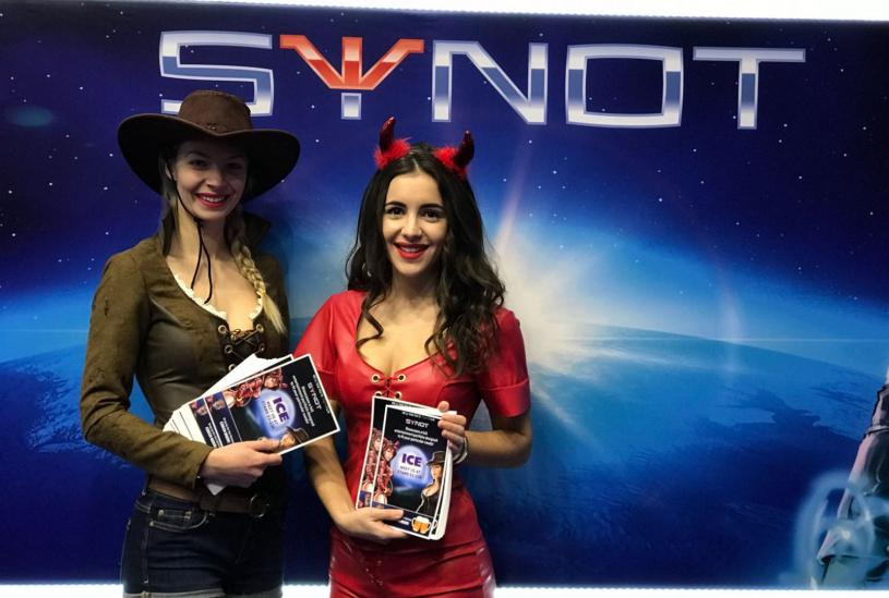 SYNOT Group participated in the prestigious ICE Totally Gaming show 2018